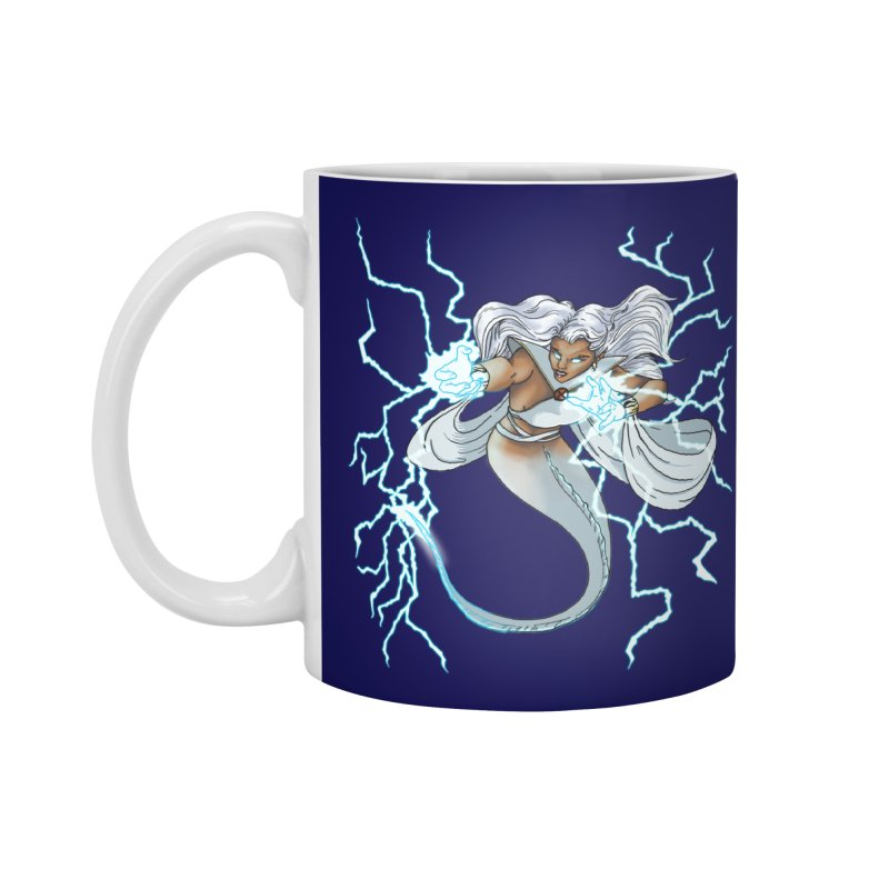 Thunderwater Accessories Standard Mug by JordanaHeney Illustration