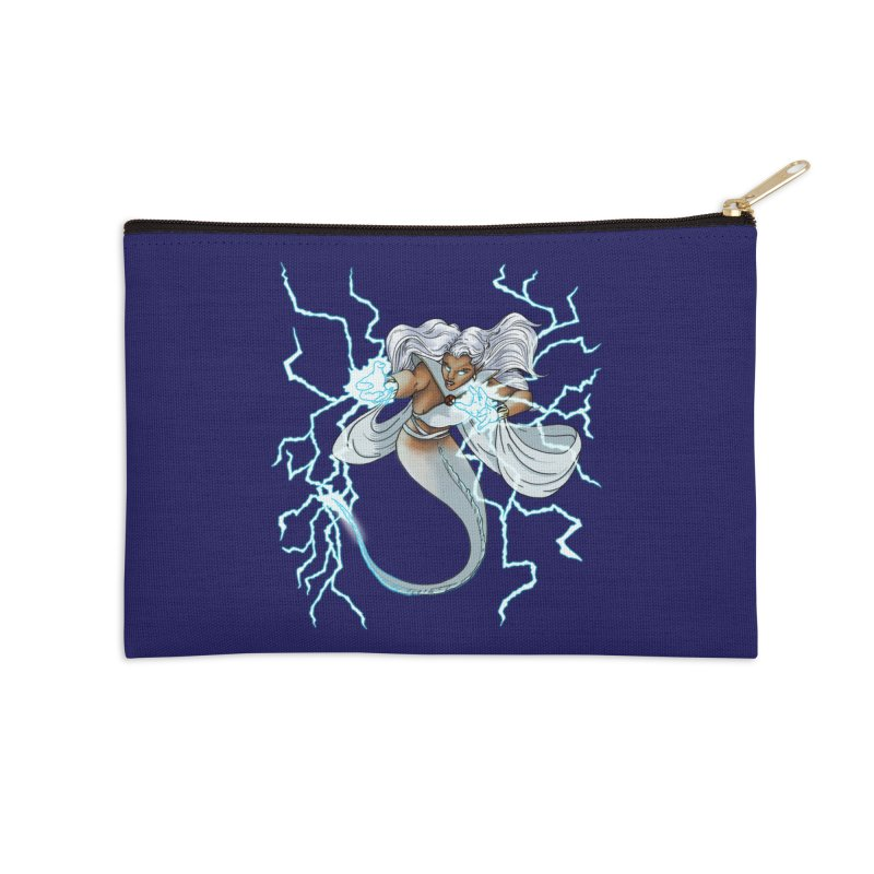 Thunderwater Accessories Zip Pouch by JordanaHeney Illustration