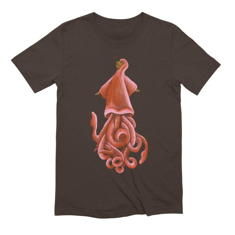 Squid Maiden Men's Extra Soft T-Shirt by JordanaHeney Illustration