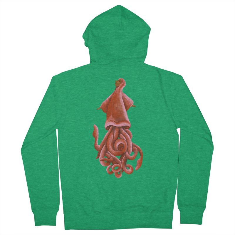 Squid Maiden Women's Zip-Up Hoody by JordanaHeney Illustration