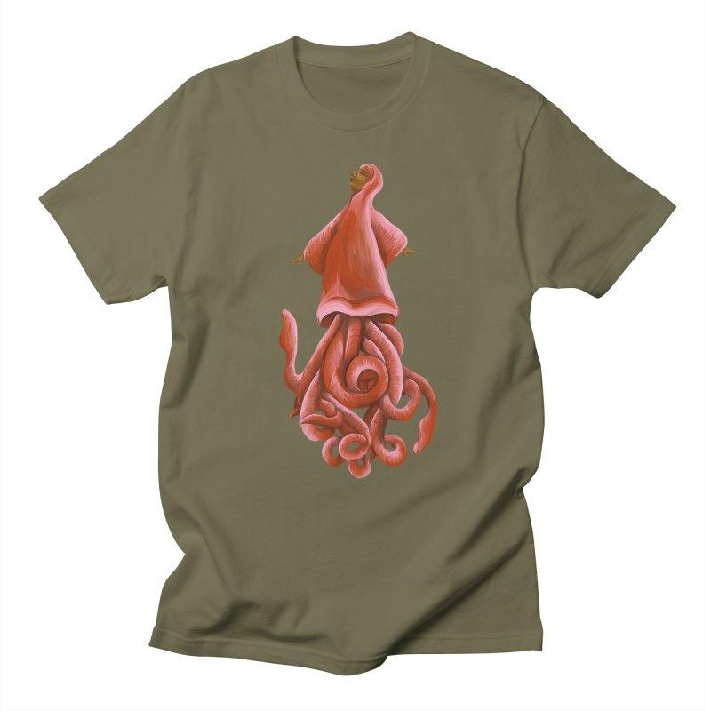 Squid Maiden Men's T-Shirt by JordanaHeney Illustration