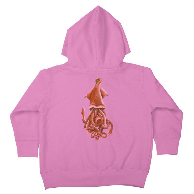 Squid Maiden Kids Toddler Zip-Up Hoody by JordanaHeney Illustration