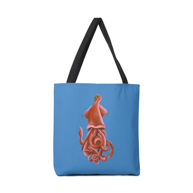 Squid Maiden Accessories Bag by JordanaHeney Illustration