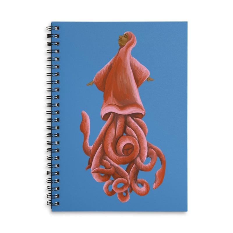 Squid Maiden Accessories Notebook by JordanaHeney Illustration