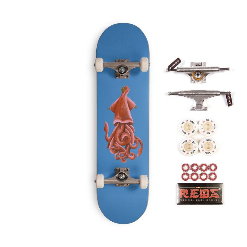 Squid Maiden Accessories Complete - Pro Skateboard by JordanaHeney Illustration