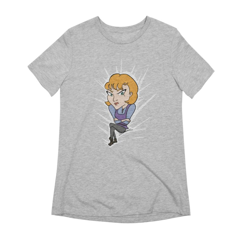 Sharp Women's Extra Soft T-Shirt by JordanaHeney Illustration