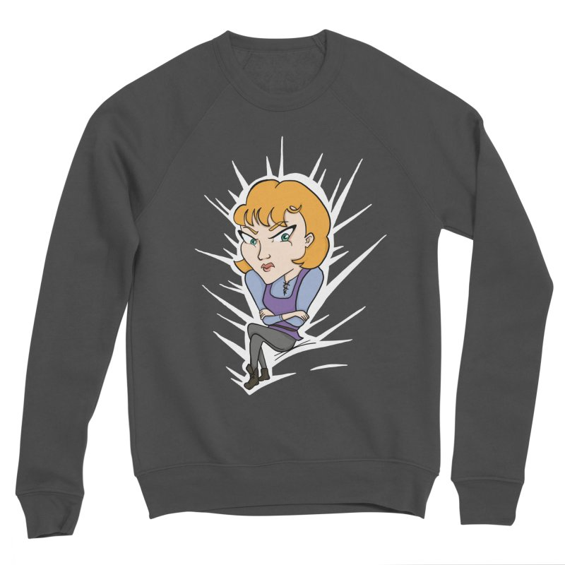 Sharp Women's Sponge Fleece Sweatshirt by JordanaHeney Illustration