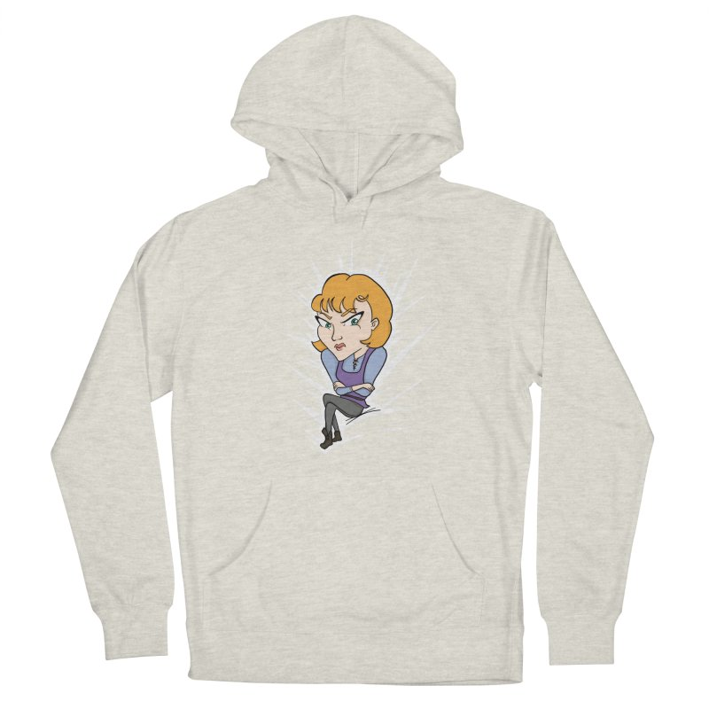 Sharp Women's French Terry Pullover Hoody by JordanaHeney Illustration