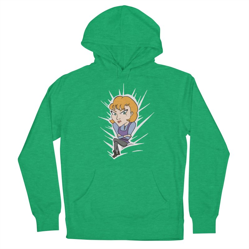 Sharp Men's French Terry Pullover Hoody by JordanaHeney Illustration