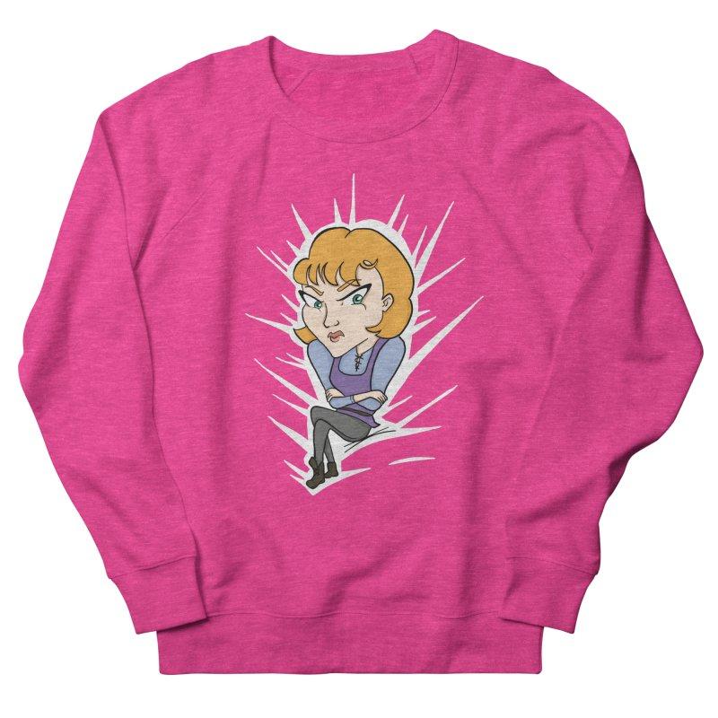 Sharp Women's French Terry Sweatshirt by JordanaHeney Illustration