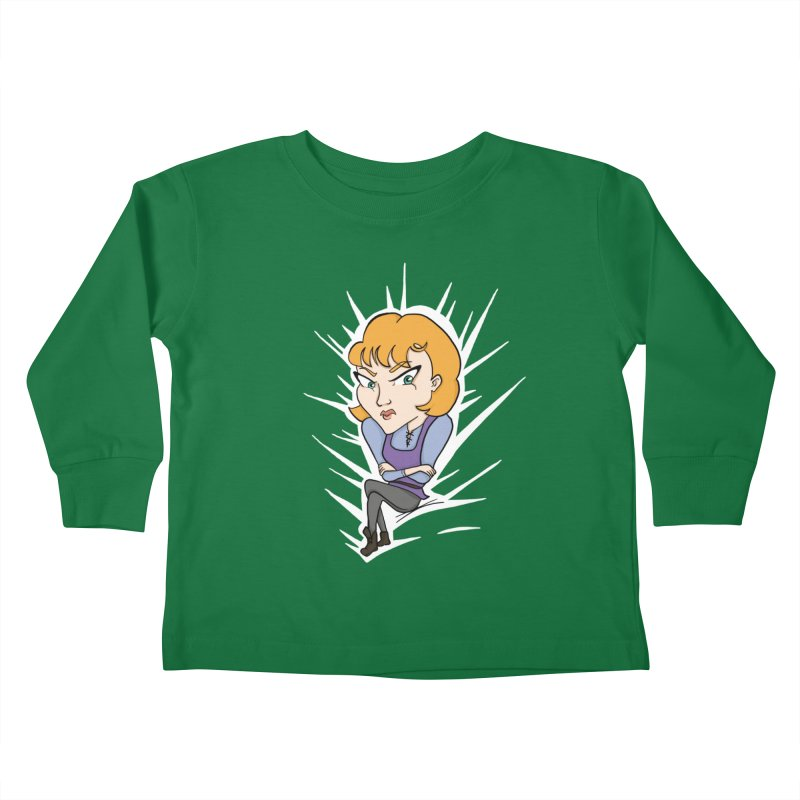 Sharp Kids Toddler Longsleeve T-Shirt by JordanaHeney Illustration