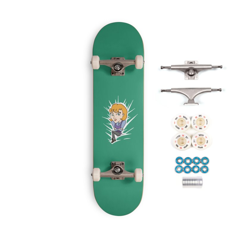 Sharp Accessories Complete - Premium Skateboard by JordanaHeney Illustration