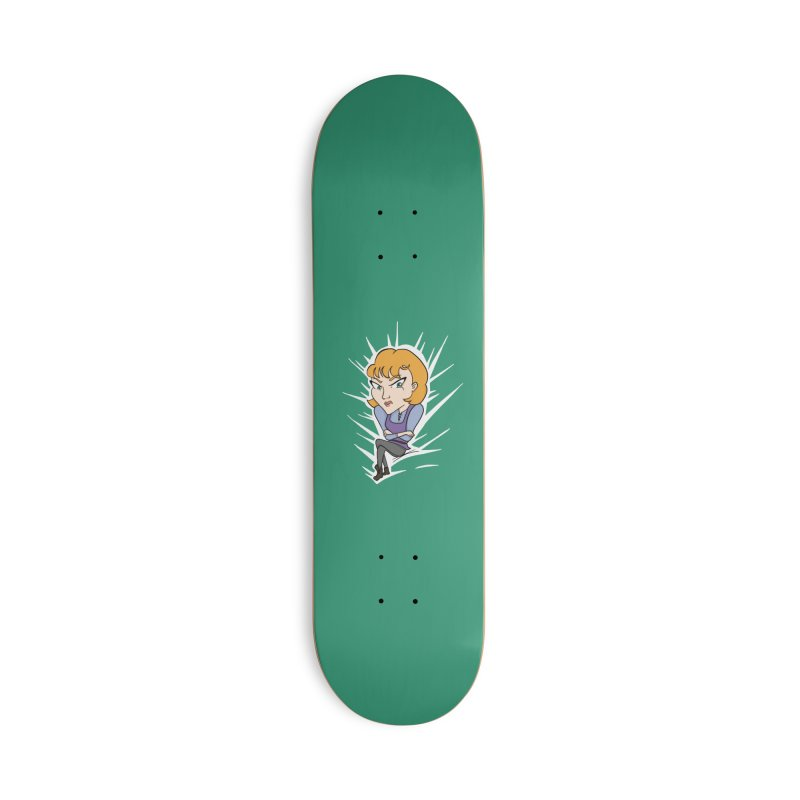 Sharp Accessories Skateboard by JordanaHeney Illustration