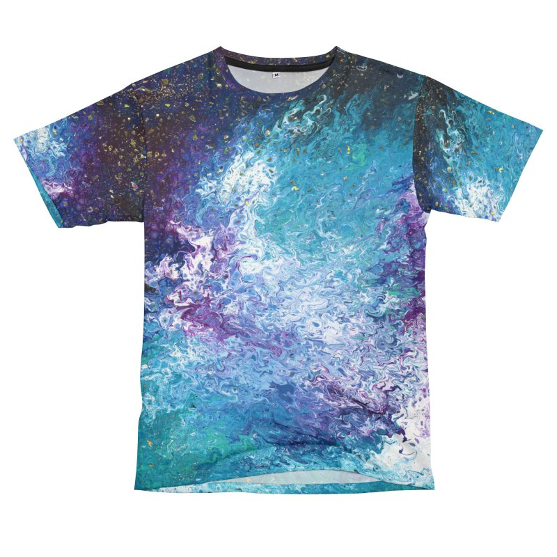 Galaxy Men's Cut & Sew by JordanaHeney Illustration