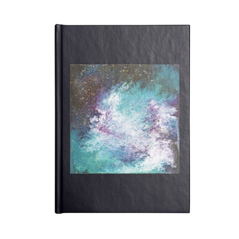 Galaxy Accessories Blank Journal Notebook by JordanaHeney Illustration