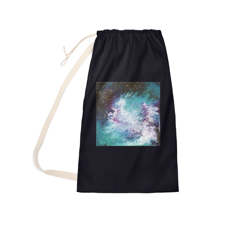 Galaxy Accessories Laundry Bag Bag by JordanaHeney Illustration