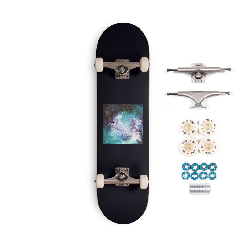 Galaxy Accessories Complete - Premium Skateboard by JordanaHeney Illustration