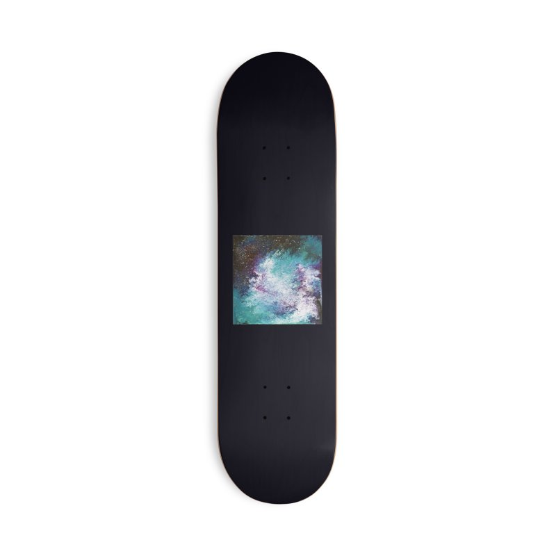 Galaxy Accessories Deck Only Skateboard by JordanaHeney Illustration