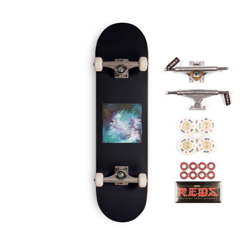 Galaxy Accessories Complete - Pro Skateboard by JordanaHeney Illustration