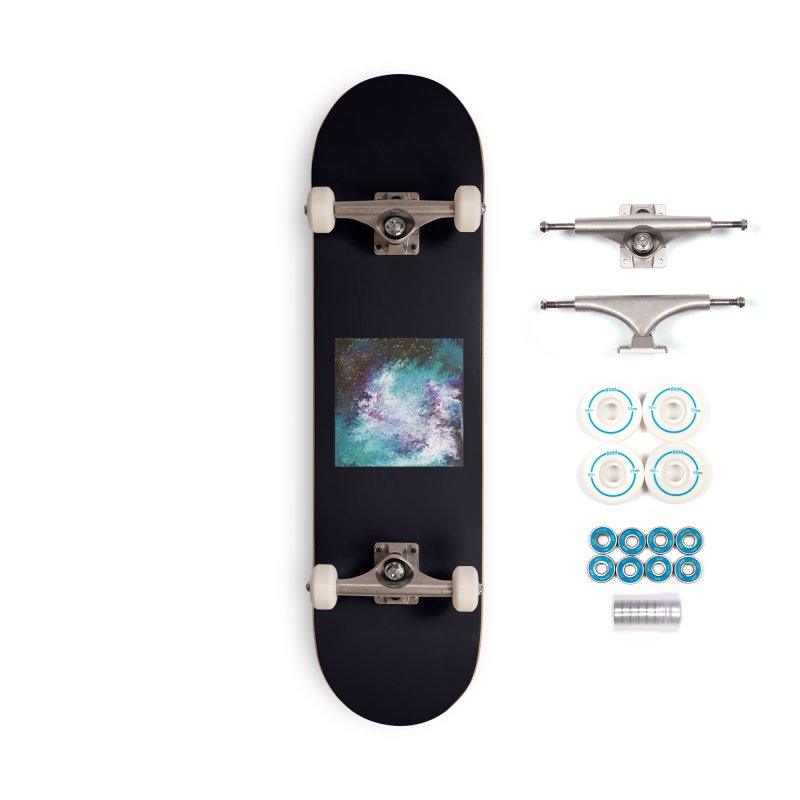 Galaxy Accessories Complete - Basic Skateboard by JordanaHeney Illustration