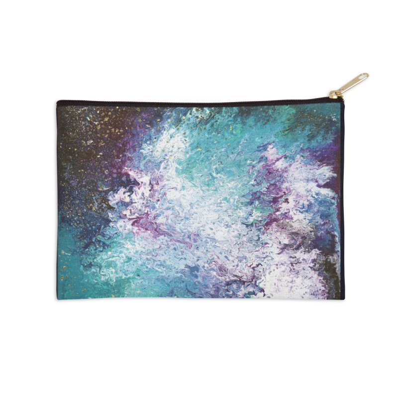 Galaxy Accessories Zip Pouch by JordanaHeney Illustration