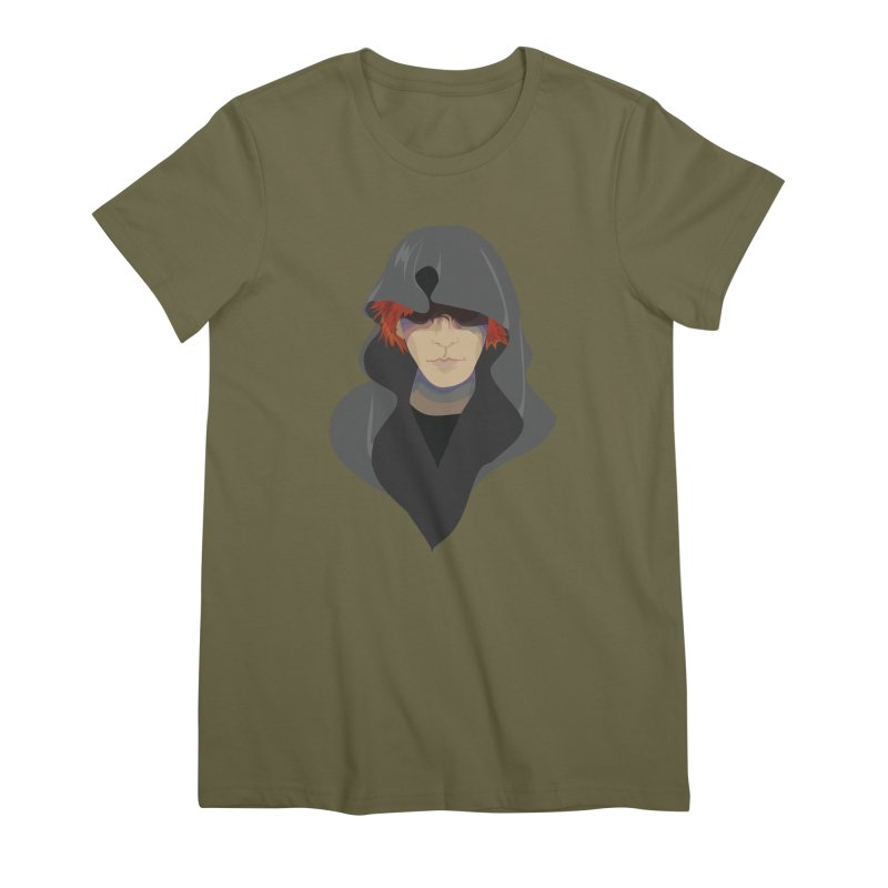 Sneak Thief Women's Premium T-Shirt by JordanaHeney Illustration