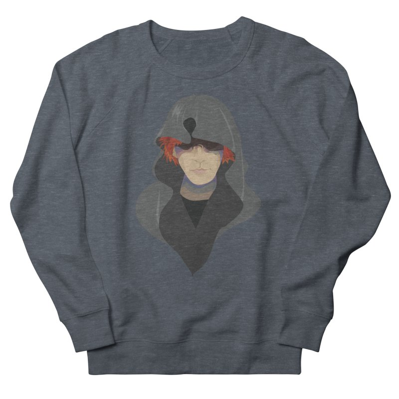 Sneak Thief Women's French Terry Sweatshirt by JordanaHeney Illustration