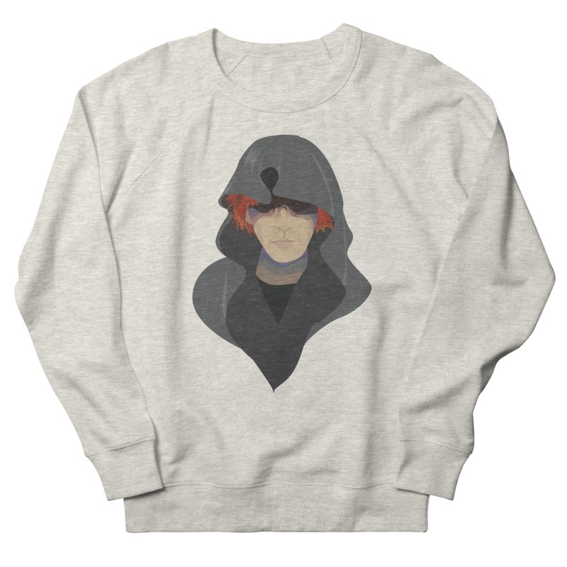 Sneak Thief Women's French Terry Sweatshirt by JordanaHeney Illustration