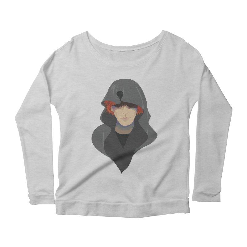 Sneak Thief Women's Scoop Neck Longsleeve T-Shirt by JordanaHeney Illustration