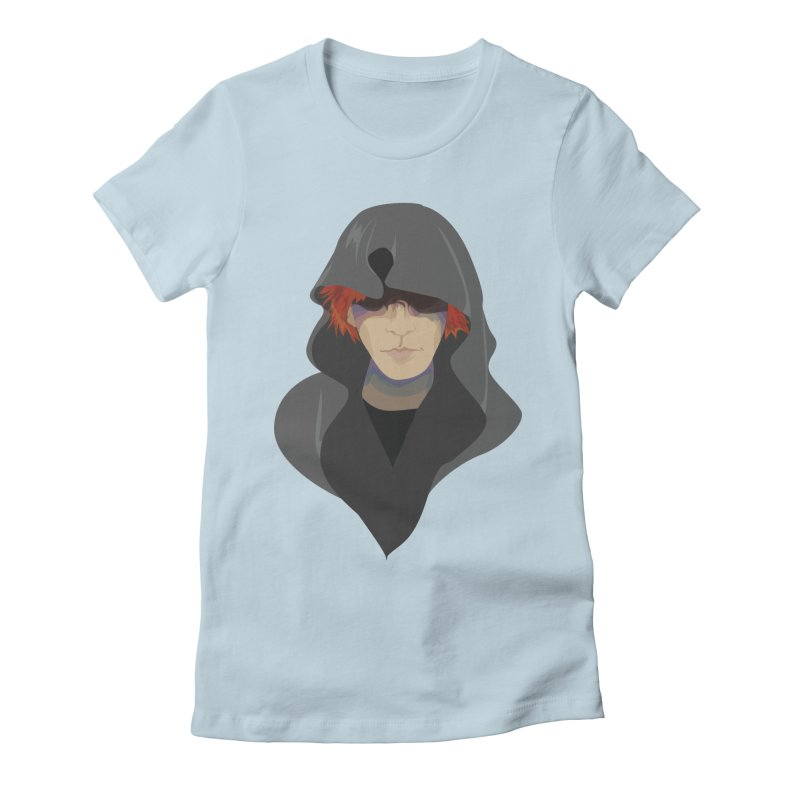 Sneak Thief Women's Fitted T-Shirt by JordanaHeney Illustration