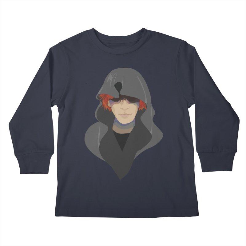 Sneak Thief Kids Longsleeve T-Shirt by JordanaHeney Illustration