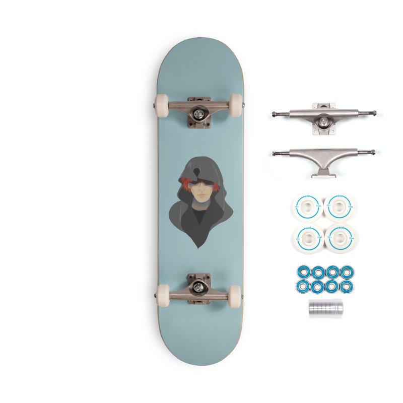 Sneak Thief Accessories Complete - Basic Skateboard by JordanaHeney Illustration