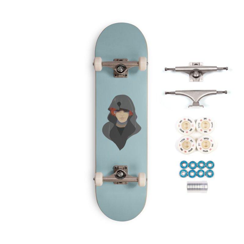 Sneak Thief Accessories Complete - Premium Skateboard by JordanaHeney Illustration