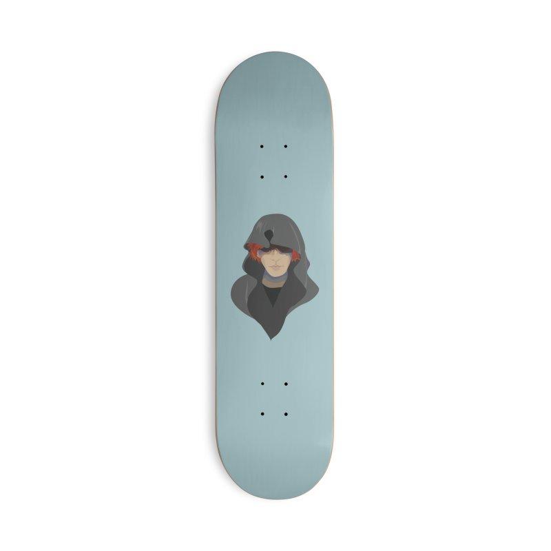 Sneak Thief Accessories Deck Only Skateboard by JordanaHeney Illustration