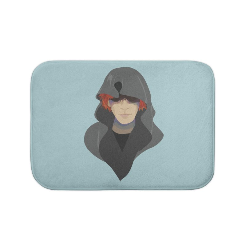 Sneak Thief Home Bath Mat by JordanaHeney Illustration