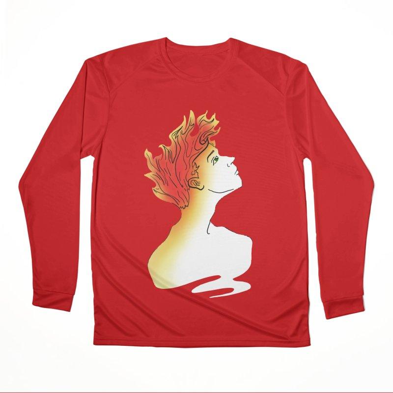 Fire Within Women's Performance Unisex Longsleeve T-Shirt by JordanaHeney Illustration