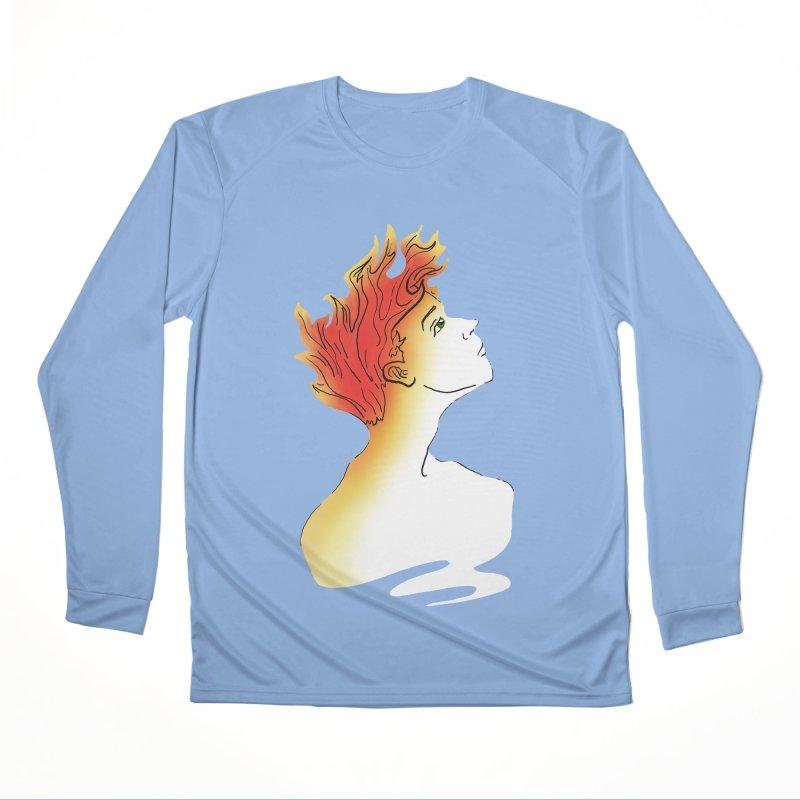 Fire Within Women's Longsleeve T-Shirt by JordanaHeney Illustration