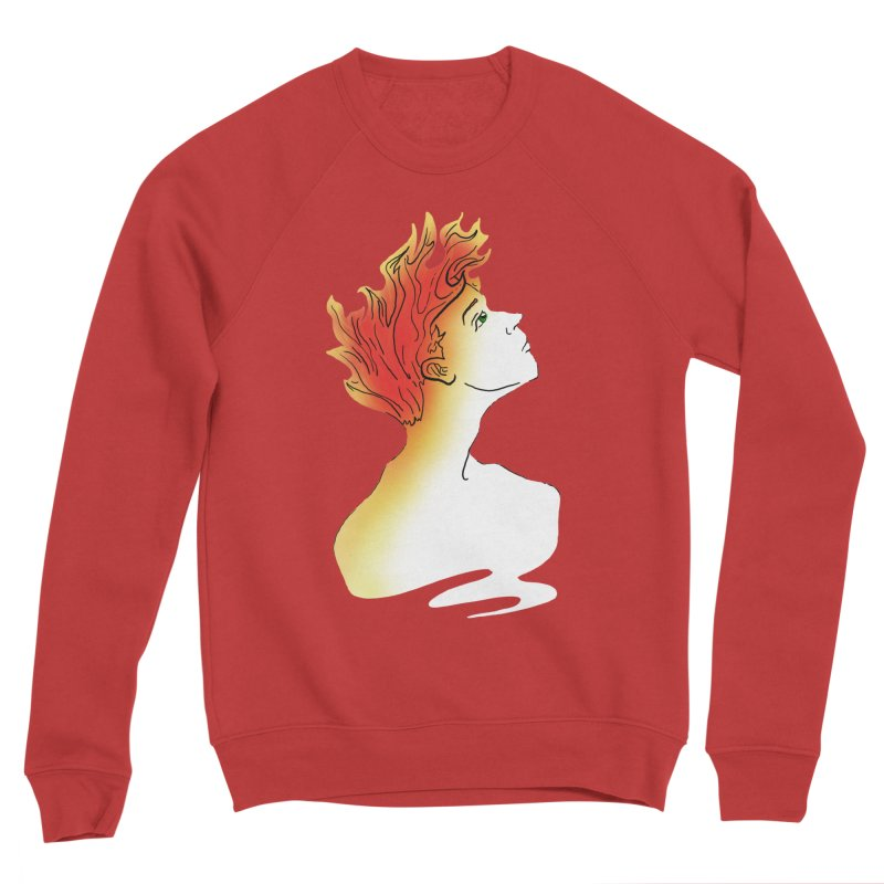 Fire Within Women's Sponge Fleece Sweatshirt by JordanaHeney Illustration