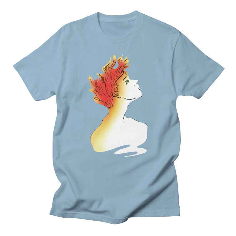 Fire Within Men's T-Shirt by JordanaHeney Illustration