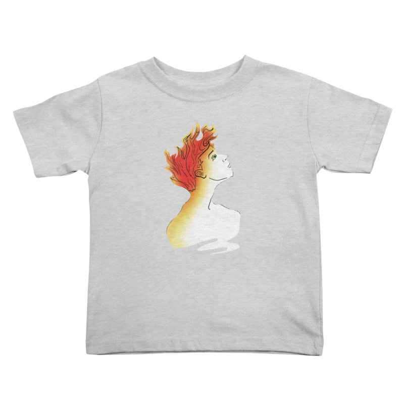 Fire Within Kids Toddler T-Shirt by JordanaHeney Illustration