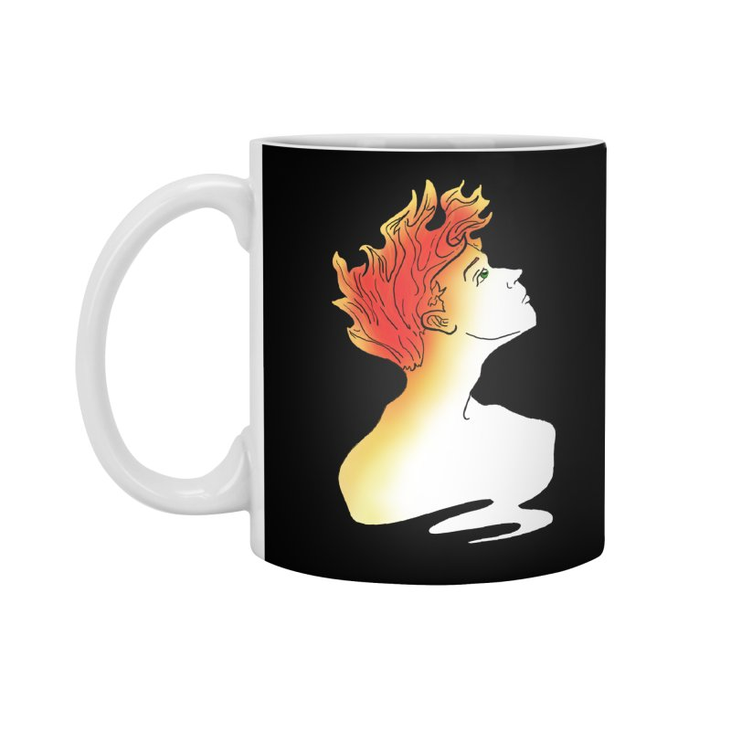 Fire Within Accessories Standard Mug by JordanaHeney Illustration