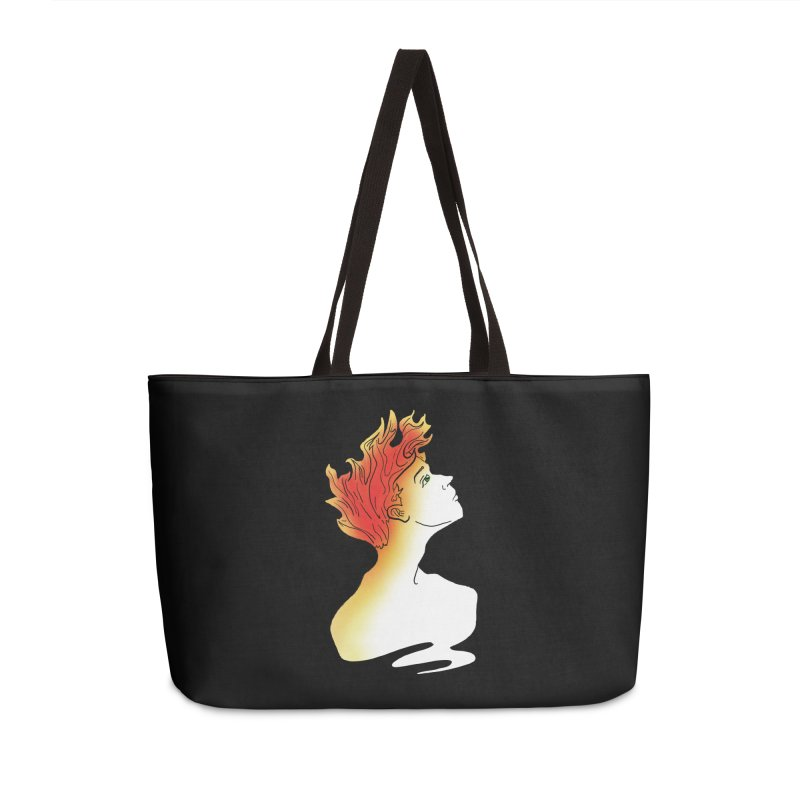 Fire Within Accessories Weekender Bag Bag by JordanaHeney Illustration
