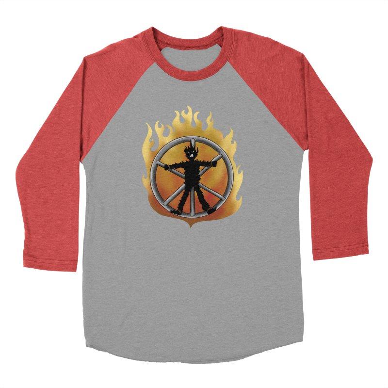 The Burning Wheel Men's Longsleeve T-Shirt by JordanaHeney Illustration