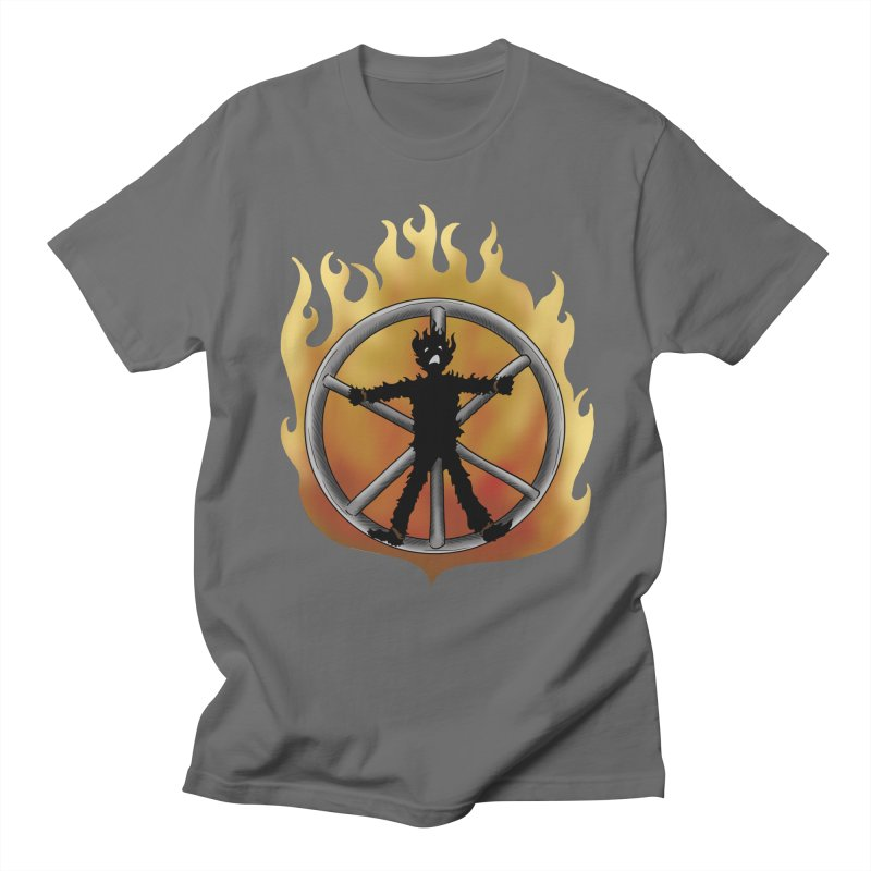 The Burning Wheel Men's T-Shirt by JordanaHeney Illustration