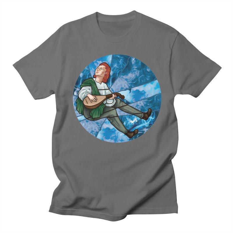 Stained Glass Kvothe Men's T-Shirt by JordanaHeney Illustration
