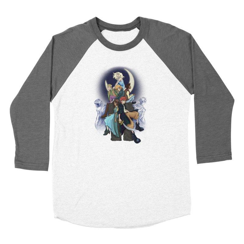 Kingdom of the Wind Women's Longsleeve T-Shirt by JordanaHeney Illustration