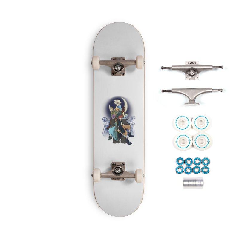 Kingdom of the Wind Accessories Skateboard by JordanaHeney Illustration