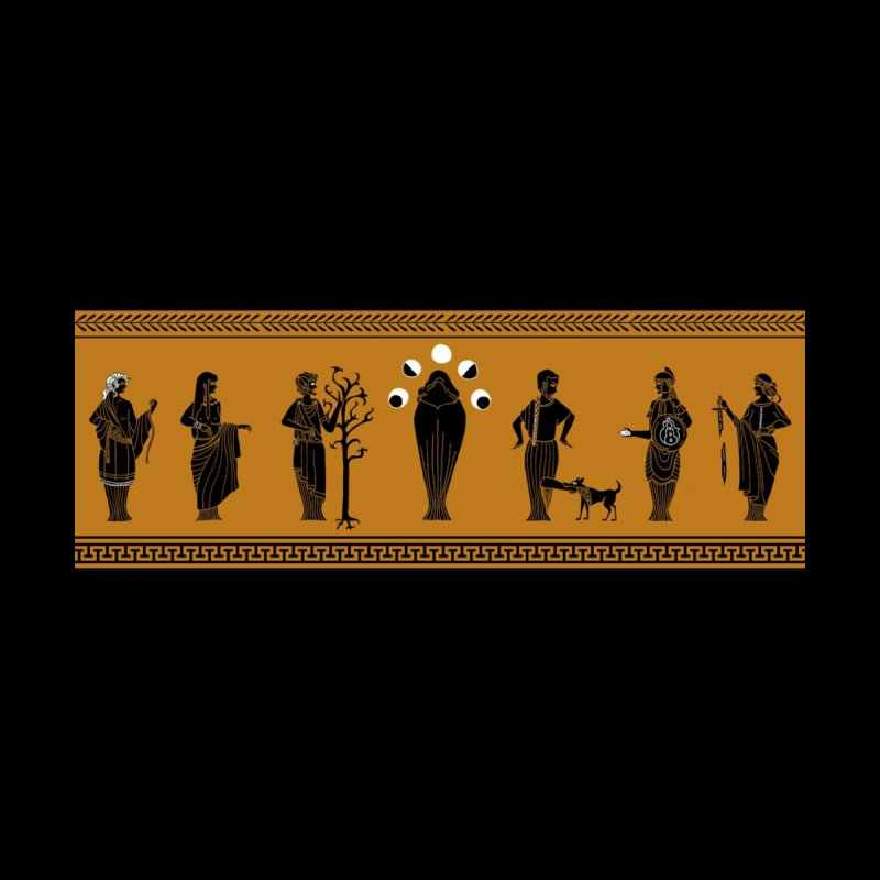 The Mauthen Vase Men's T-Shirt by JordanaHeney Illustration