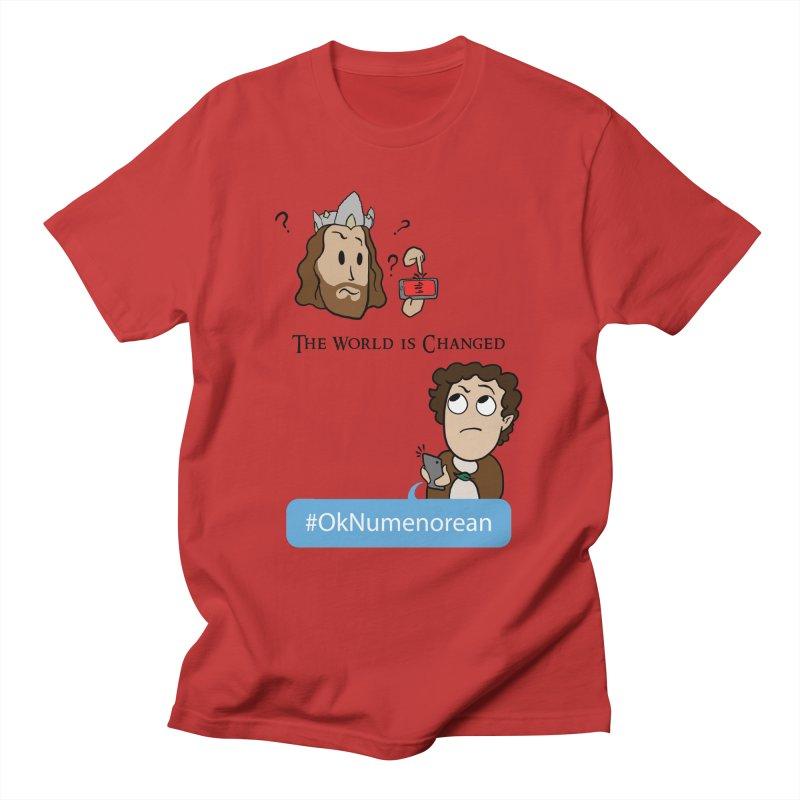 #OkNumenorean Men's T-Shirt by JordanaHeney Illustration