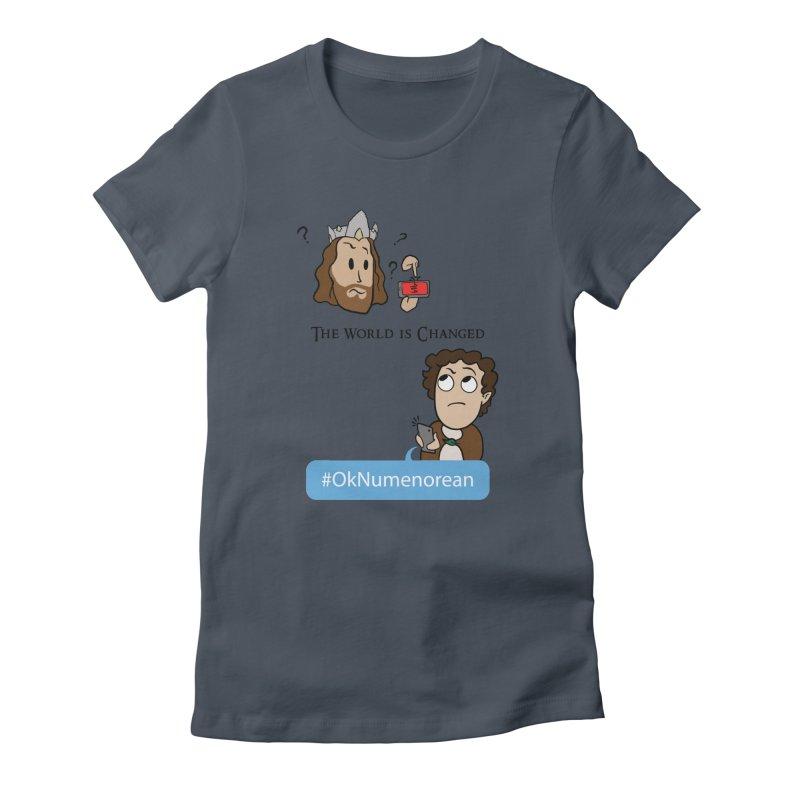 #OkNumenorean Women's T-Shirt by JordanaHeney Illustration